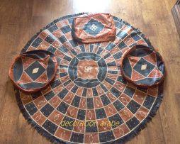 alfombra  african de  cuero Niger