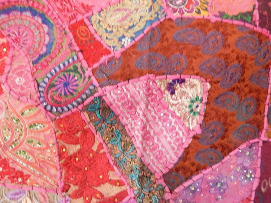 camino de mesa patchwork varios colores