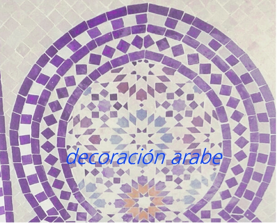 Mesas mosaico marroqui mesa mosaico marroqui artesano for Mosaico marroqui