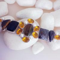 pulsera piedras preciosas India