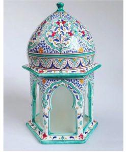 lámpara cerámica árabe andaluza