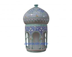 lámpara cerámica andalusi