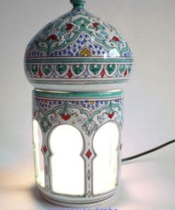 lampara cerámica andalusí árabe