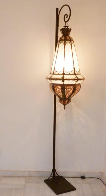 lámpara marroquí lustre grande
