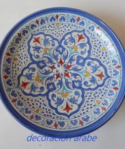 plato cerámica árabe andalusí 3