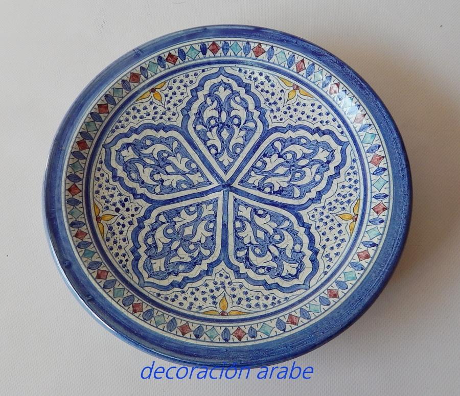 platos y botellas azules cer mica andalus color azul On platos ceramica colores
