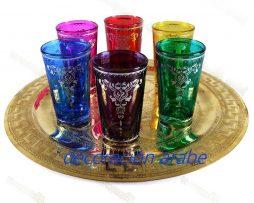 vasos marroquíeara el te Decó