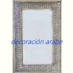espejo árabe marroquí filigrana