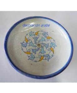plato cerámica andaluza
