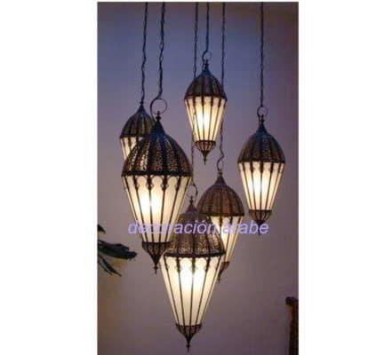 lampara árabe marroqí