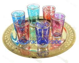 vasos árabes té Primavera