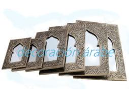 espejo árabe cincelado