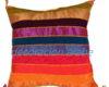 cojin india algodón multicolor