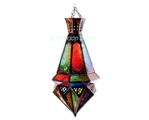 lámpara marroquí colgante techo