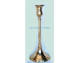 portavelas  árabe bronce