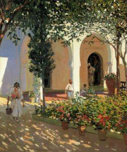 M. Bertuchi Patio Marruecos