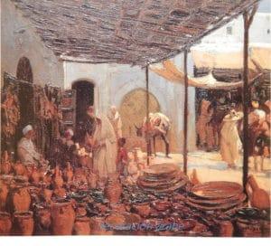 M. Bertuchi, poster Los cacharreros