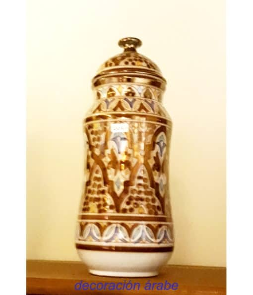 albarelo cerámica andaluza nazarí