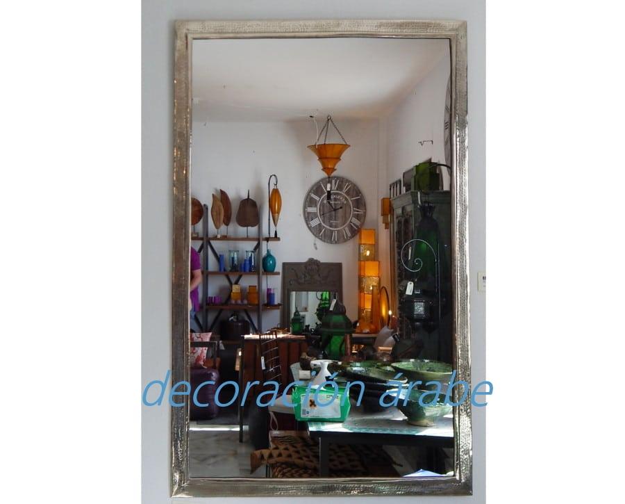 Espejos Marroqu Es Plateados Modelo Arco