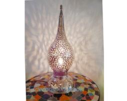 lámpara Gota plateada marroquí