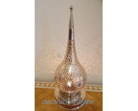 lámpara marroquí Gota plateada