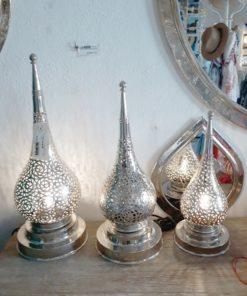 lampara árabe mesa alpaca