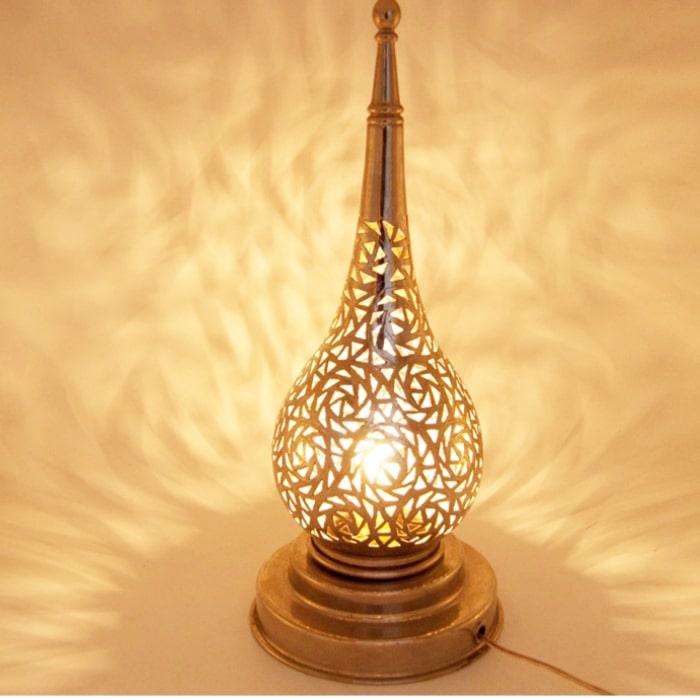 lámpara mesa árabe Gota
