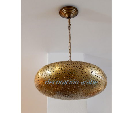 lampara marroquí cobre Ovalo