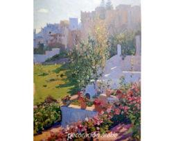 poster Marruecos M. Bertuchi: exterior de Tetuán