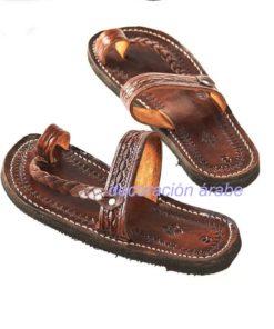 sandalia cuero artesanal
