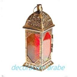 Faroles marroquíes pequeños