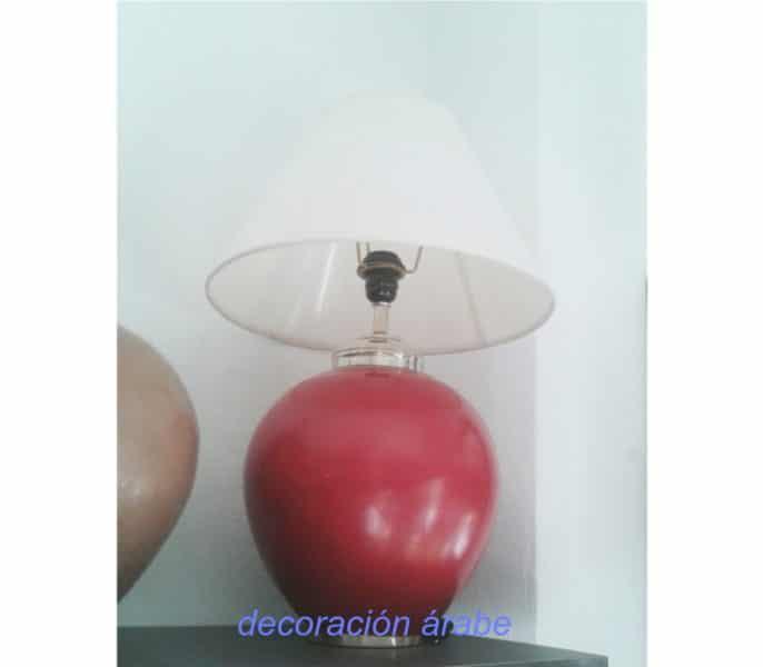lámpara mesa arabe