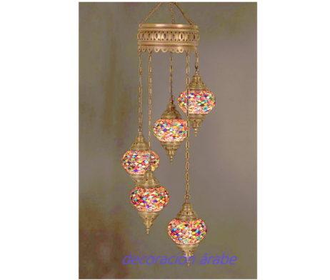 lampara multicolor turca
