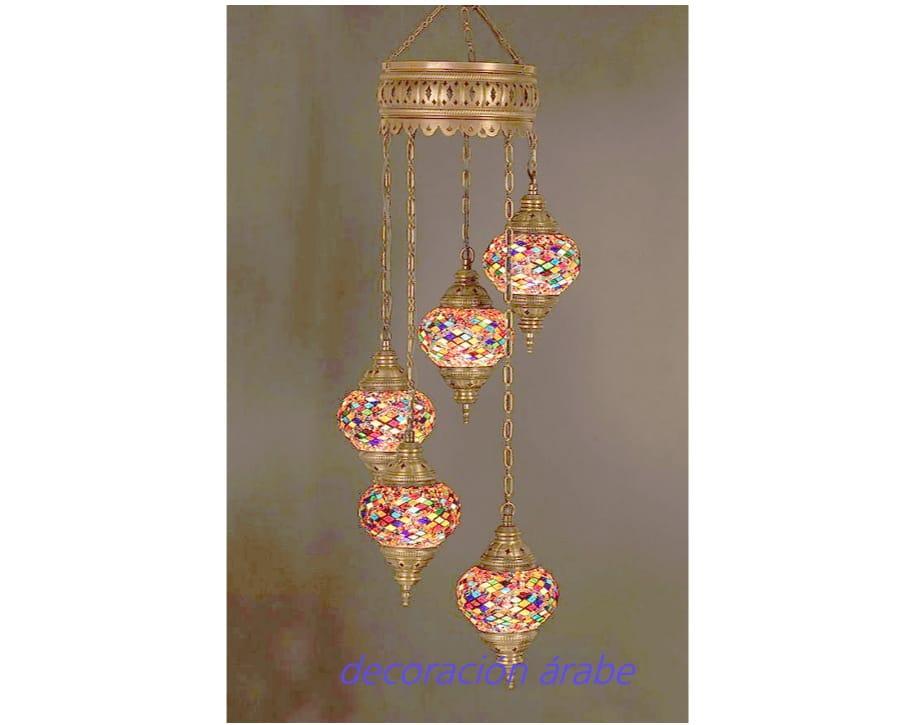 lmpara turca bolas multicolor