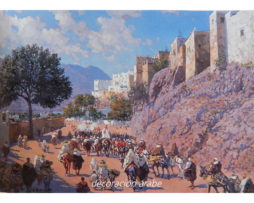 poster Marruecos Murallas