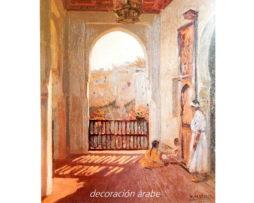 poster  Mariano Bertuchi, niñas en la terraza