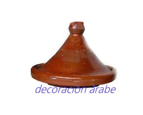 tajin marroqui cónico