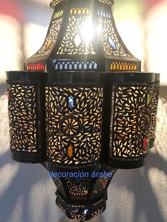 gran lampara árabe