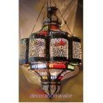 Grandes lámparas marroquíes