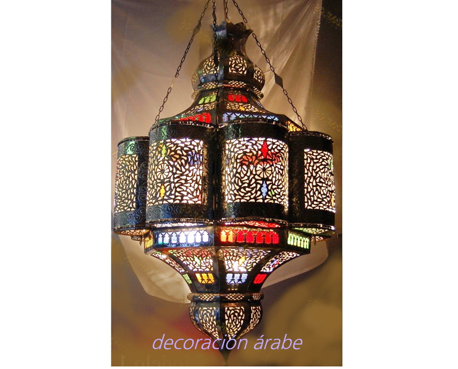 lámpara marroquí grande