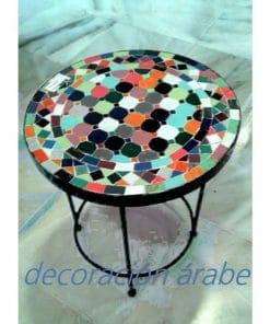 mesa exterior mosaico
