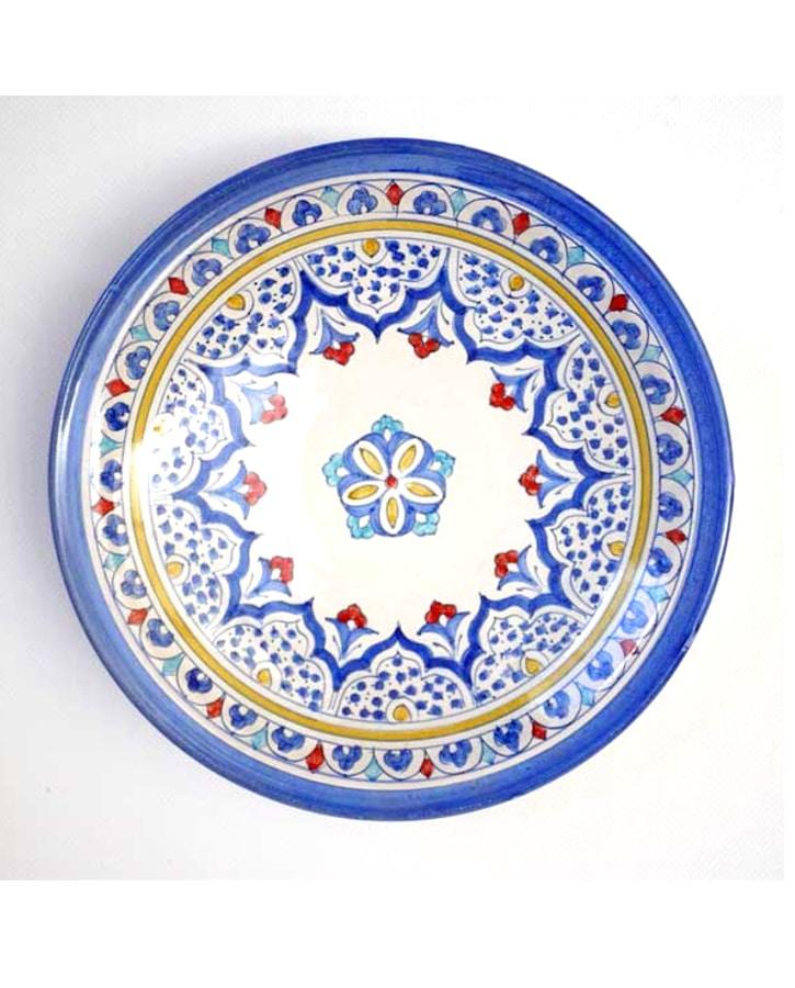 Plato cer mica rabe andaluza peque o - Platos de ceramica ...