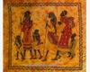 colcha étnica africana Familia