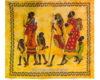 colcha india familia africana