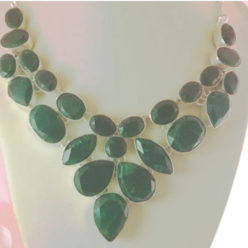 collar India jade plata