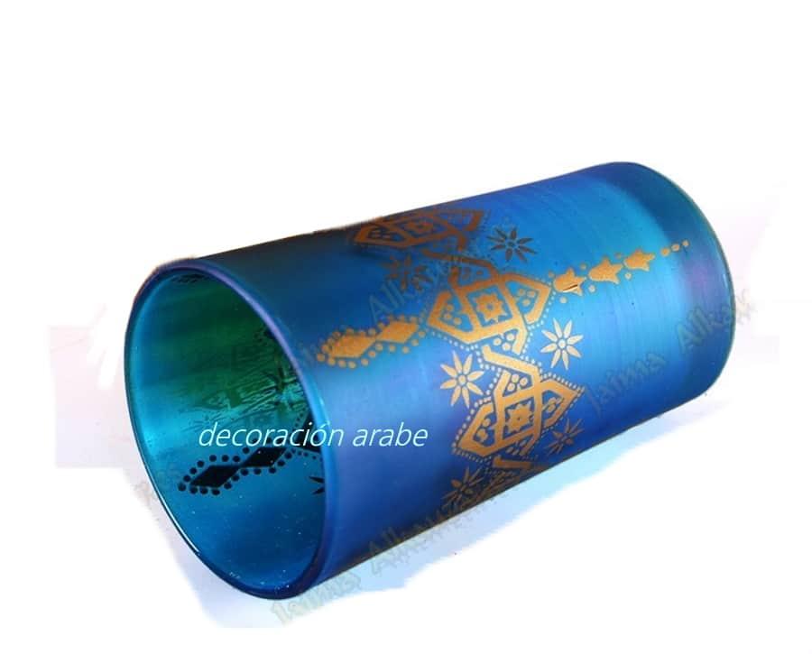 Vasos de t marroqu es mosaico for Vasos de te