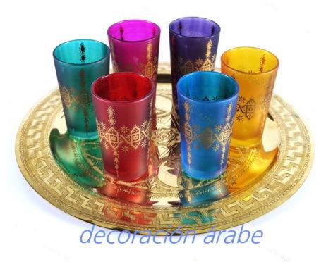 vasos árabes mosaico