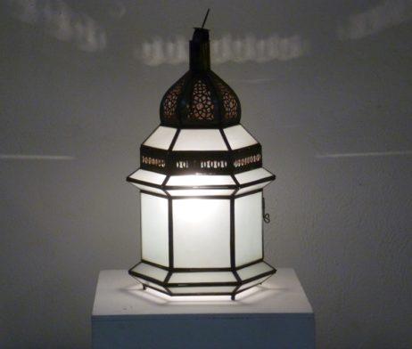 lámpara marroquí dar fez opal