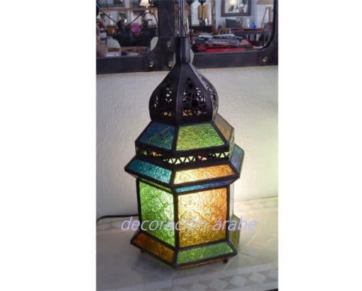 lampara árabedar fez multicolor