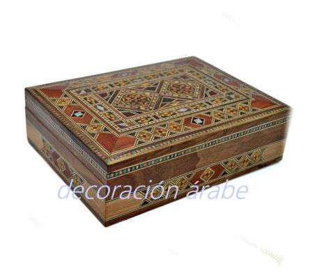 caja taracea siria rectangul